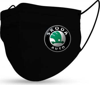 Masca Fashion Reutilizabila Sigla Auto Skoda Accesorii barbati