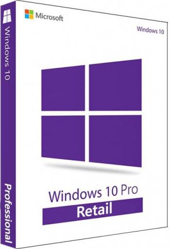 Microsoft Windows 10 Pro Retail 32/64 BIT Toate Limbile Transferabila