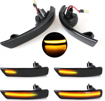 Set semnalizare dinamica oglinda laterala Ford Focus 2 3 Mk2 Mk3 Mondeo Mk4