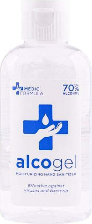 Dezinfectant de maini hidratant Medic Formula 50 ml -70 alcool Gel antibacterian