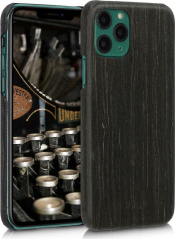 Husa pentru Apple iPhone 11 Pro Lemn Negru 49795.01 Huse Telefoane