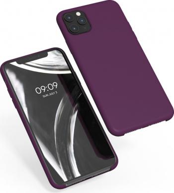 Husa pentru Apple iPhone 11 Pro Max Silicon Violet 49725.187 Huse Telefoane