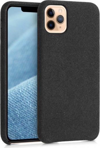 Husa pentru Apple iPhone 11 Pro Max Textil Negru 49806.01 Huse Telefoane