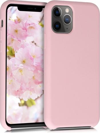 Husa pentru Apple iPhone 11 Pro Silicon Rose Gold 49726.156 Huse Telefoane