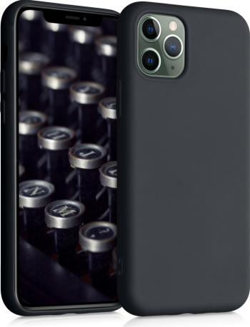 Husa pentru Apple iPhone 11 Pro Silicon Negru 50792.47 Huse Telefoane