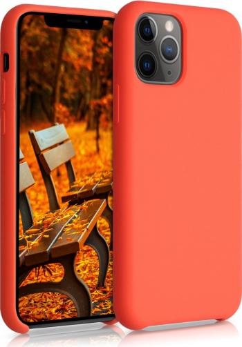 Husa pentru Apple iPhone 11 Pro Silicon Portocaliu 49726.69 Huse Telefoane