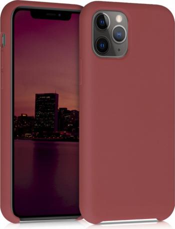 Husa pentru Apple iPhone 11 Pro Silicon Rosu 49726.160 Huse Telefoane
