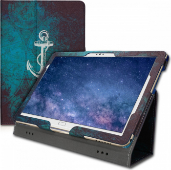 Husa pentru Huawei MediaPad M5 Lite Piele ecologica Multicolor 46782.05
