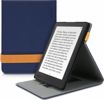 Husa pentru Kobo Aura H2O Edition 2 Piele ecologica Albastru 45099.17 Huse Tablete
