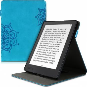 Husa pentru Kobo Aura H2O Edition 2 Piele ecologica Albastru 48381.09 Huse Tablete