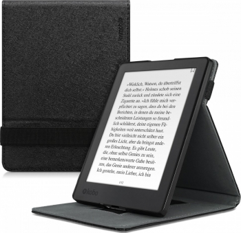 Husa pentru Kobo Aura H2O Edition 2 Piele ecologica Negru 45099.01 Huse Tablete