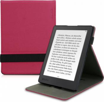 Husa pentru Kobo Aura H2O Edition 2 Piele ecologica Roz 45099.08 Huse Tablete