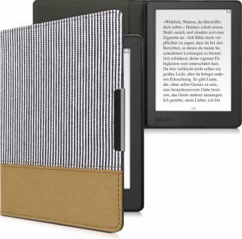 Husa pentru Kobo Aura H2O Edition 2 Textil Albastru 45843.01 Huse Tablete