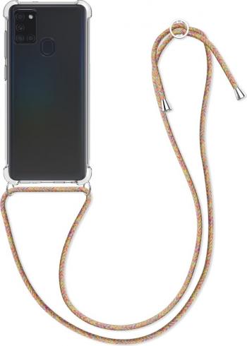 Husa pentru Samsung Galaxy A21s Silicon Transparent 52568.32 Huse Telefoane