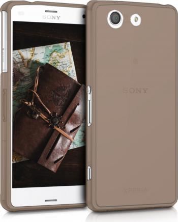 Husa pentru Sony Xperia Z3 Compact Silicon Negru 47295.01 Huse Telefoane