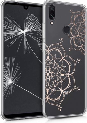 Husa pentru Xiaomi Redmi Note 7  Redmi Note 7 Pro Silicon Rose Gold 48154.07 Huse Telefoane