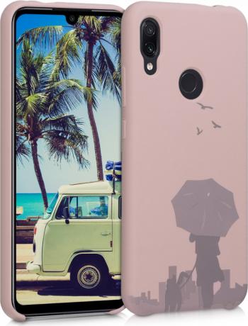 Husa pentru Xiaomi Redmi Note 7  Redmi Note 7 Pro Silicon Roz 51126.01 Huse Telefoane