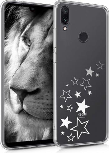 Husa pentru Xiaomi Redmi Note 7  Redmi Note 7 Pro Silicon Silver 48154.03 Huse Telefoane