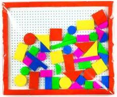 Joc educativ figuri geometrice magnetice Jocuri de Societate