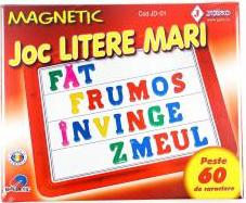 Joc educativ litere magnetice Jocuri de Societate