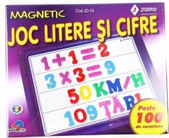 Joc educativ litere si cifre magnetice Jocuri de Societate