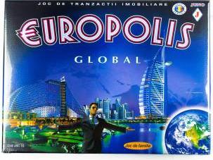 Joc Europolis Global Jocuri de Societate