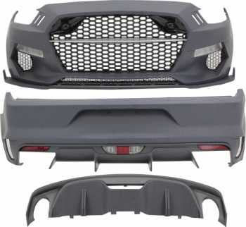 Pachet Exterior compatibil cu FORD Mustang Sixth Generation 2015+ Rocket Style Huse si Accesorii