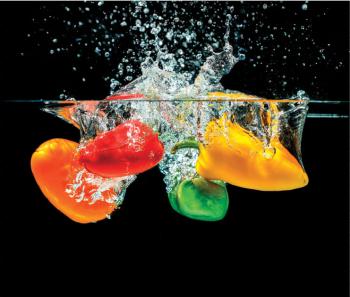 Panou decorativ din sticla securizata pentru bucatarie protectie aragaz antistropire sticla securizata 6mm Print UV octopus imprimata Gresie si Parchet