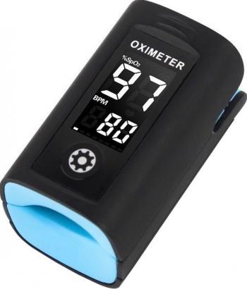 Pulsoximetru Vitammy Creative PC60A indica nivelul de saturatie a oxigenului Pulsoximetre