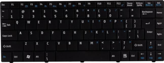Tastatura laptop MSI X300 X320 X340 X401
