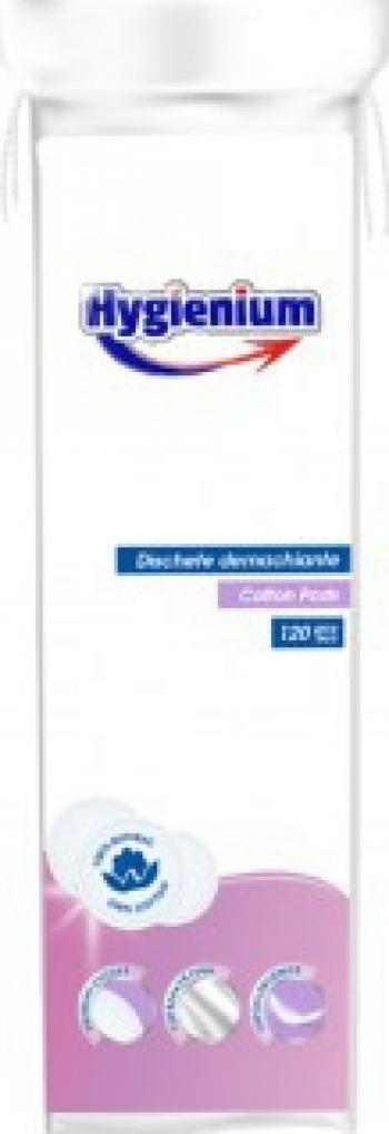 HYGIENIUM PROFESSIONAL DISCHETE DEMACHIATE 150 BUC CALITATE PREMIUM 100 BUMBAC Accesorii Cosmetice