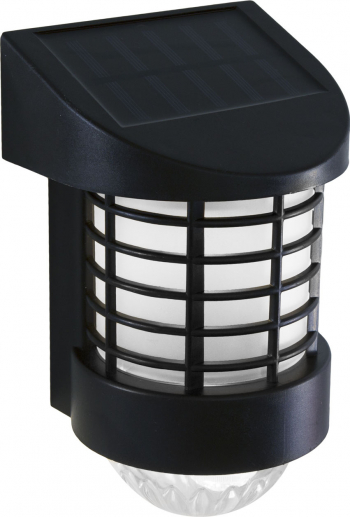 Lampa Solara LED de Perete Lumina Alb Rece Dimensiuni 19x12x10cm