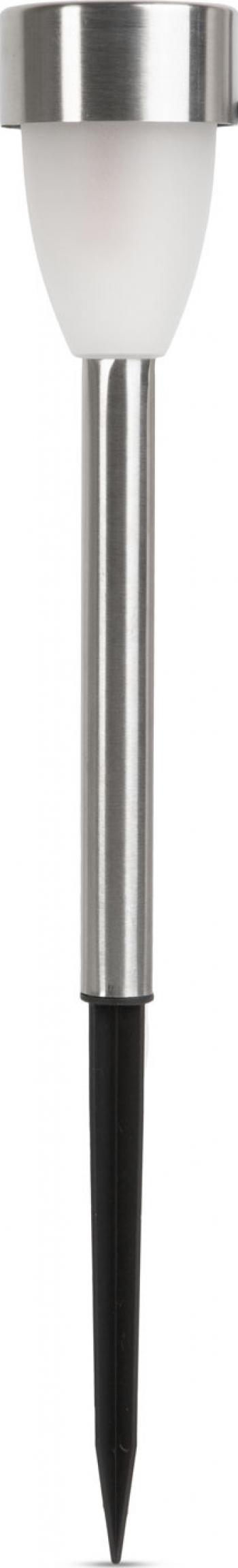 Lampa Solara LED Lumina Alb Rece Metal Inaltime 37cm Corpuri de iluminat