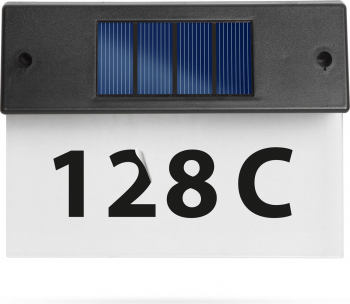 Numar de Casa cu Iluminare LED Lampa Solara Plexiglas Transparent Corpuri de iluminat