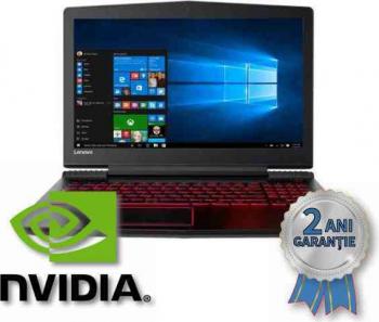 Laptop Refurbished LENOVO Legion Y520 i7-7700HQ 3800MHz/ 16GB DDR4/ SSD 256GB + HDD 1TB/ GeForce GTX 1050Ti 4GB/ Display 15 6/ Win 10 HOME