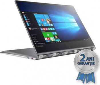 Laptop Refurbished LENOVO Yoga 910 Core i7-7500U 3500MHz 16GB DDR4 SSD 512GB Display 14 4K Ultra HD IPS cu TouchScreen Win 10 HOME Laptopuri Renew  Refurbished
