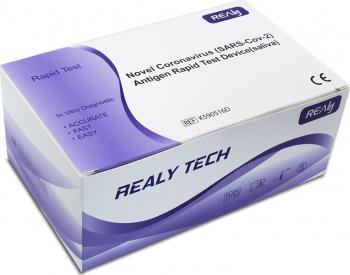 Test Rapid Saliva Antigen COVID-19 Realy Tech 20 bucati Teste rapide covid anticorpi antigen