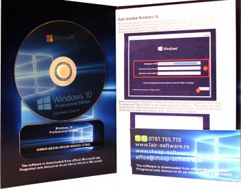 Windows 10 Pro pe DVD Sisteme de operare
