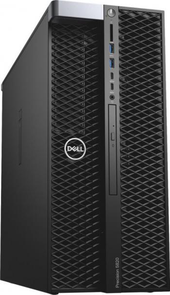 Desktop Dell Precision 5820 Tower Intel Core (10th Gen) i9-10980XE 1TB SSD 16GB Nvidia Quadro RTX4000 8GB Linux DVD-RW Mouse+Tastatura