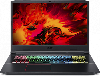 Laptop Gaming Acer Nitro 5 AN517-52 Intel Core 10th Gen i7-10750H 512GB SSD 16GB  NVIDIA GeForce GTX 1660Ti 6GB FullHD 120Hz T.il. Black Laptop laptopuri