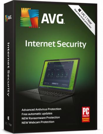 AVG Internet Security 1 computer 1 an