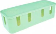 Cutie organizare cabluri gestionare cabluri birou organizator Cable Managemnt Box verde FMD091