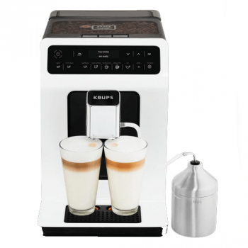 Espressor Automat Krups Evidence EA891110 XS60000 2.3 L 1450 W 15 bar Alb One Touch Cappuccino Alb-Negru Expresoare espressoare cafea