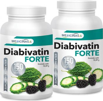 Diabivatin Forte Medicinas pachet 2 luni