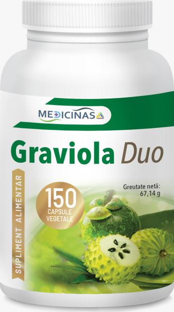 Graviola Duo citostatic natural Medicinas 150 capsule