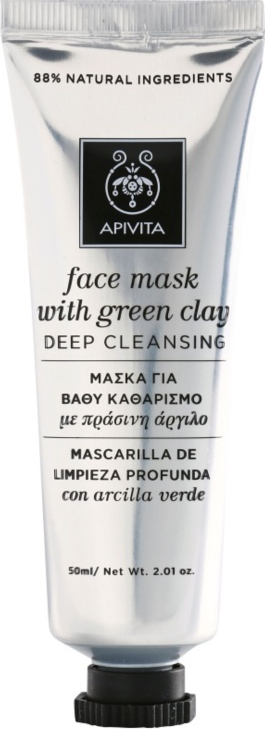 Masca Faciala Face Mask with Green Clay Apivita 50 ml Masti, exfoliant, tonice