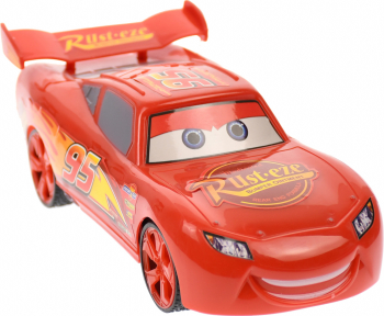 Masinuta Fulger McQueen Cars 3 cu telecomanda rosie - 55313