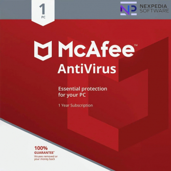 McAfee Internet Security 1 Dispozitiv - 1 An Antivirus