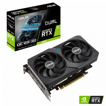 Placa video ASUS GeForce RTX 3060 DUAL O12G 12GB GDDR6 192-bit Placi video