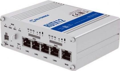 Router Wireless Teltonika RUTX12 Industrial Gri Routere